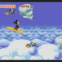 World of Illusion starring Mickey Mouse and Donald Duck